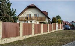 Realizace kovaných plotů a oplocení Hrotovice