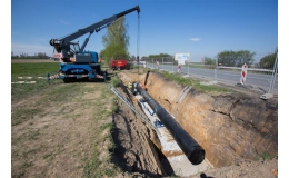 Bezvýkopová technologie - bezvýkopová výstavba vodovodu a kanalizací