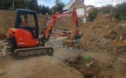 Zemní, výkopové a stavební práce Blansko