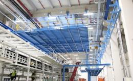 výroba ocelové konstrukce, podest a potrubních mostů