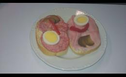 Výroba studené kuchyně - chlebíčky