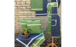 Textilní dekorace - kolekce modrotisk