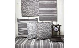 Textilní dekorace - kolekce Loara hnědá