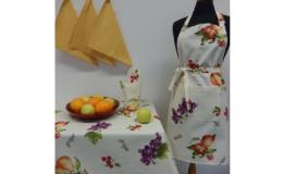 Textilní dekorace - kolekce Ovoce