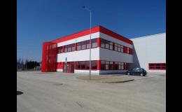 Výstavba výrobního areálu