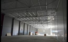 Výstavba průmyslových hal - Zlínský kraj