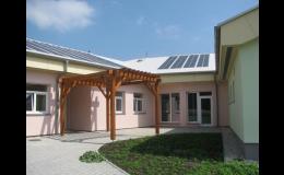 Stavba obytné budovy