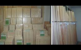 dřevářské výrobky, prkna, latě, lišty