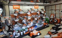 Zahradní sekačky a traktory, robotické sekačky, řetězové pily a křovinořezy STIHL - prodej