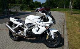 Wrapfolie na motocyklu
