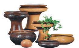 Zahradní keramika - vázy, podmisky, truhlíky od českého výrobce