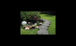 Zahradní nášlapné dílce