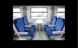 Žakarové potahové plyše do autobusu nebo vlaku