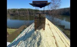 Zateplení střech PUR pěnou