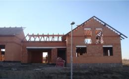 Stavební práce - domy na klíč, realizace hrubých staveb Pohořelice, Mikulov