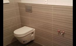 Rekonstrukce bytových jader a koupelen