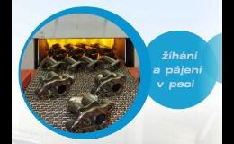 Žíhání a pájení v lineární peci Olomouc