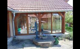 Montáž zimních zahrad z plastových profilů Moravský Krumlov, Ivančice, Pohořelice