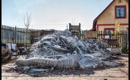 Zpracování železného odpadu Krnov