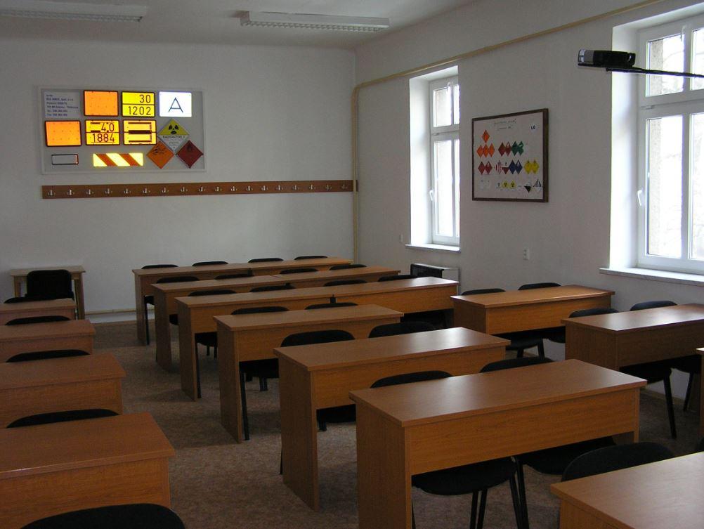 Učebna školícího střediska AUTO EDU, s.r.o.
