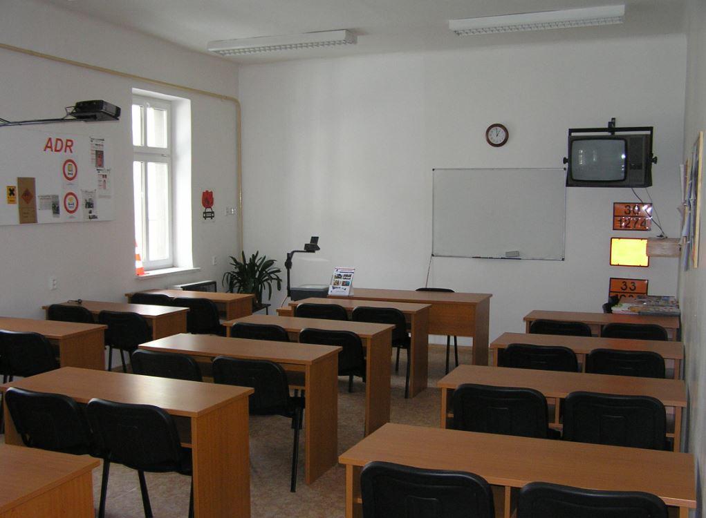 Učebna školícího střediska AUTO EDU,s.r.o.