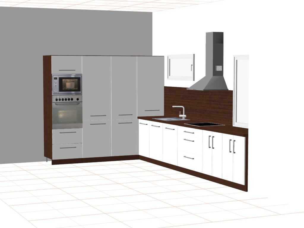 Vizualizace kuchyní