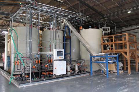 Výroba průmyslových hnojiv