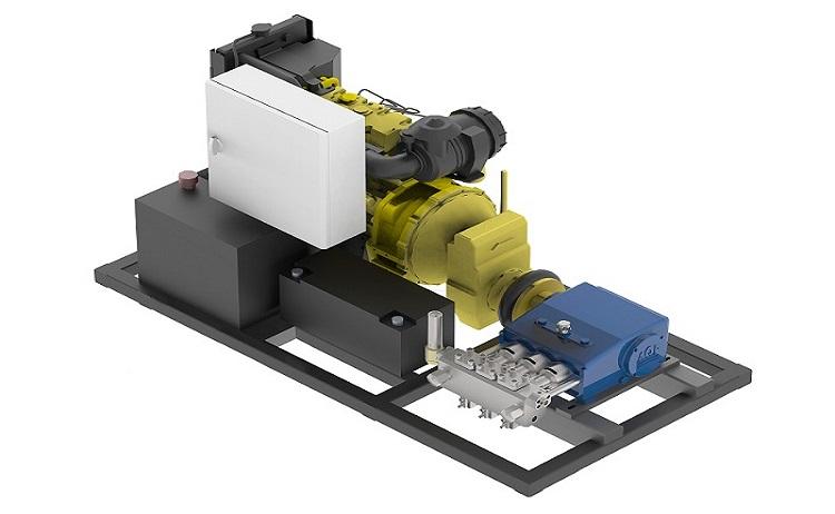 Zakázková výroba hydročističů (vysokotlakých čistících strojů)