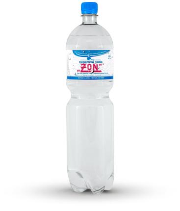 Balené vody, výroba nealkoholické nápoje