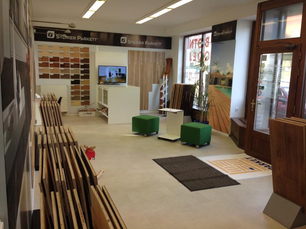 Podlahový show room, vzorkovna, dřevěné podlahy, parkety, podlahová prkna