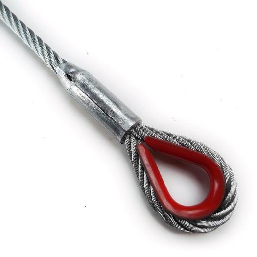 Ocelové vázací lano zalisované v e-shopu pavlinek.cz