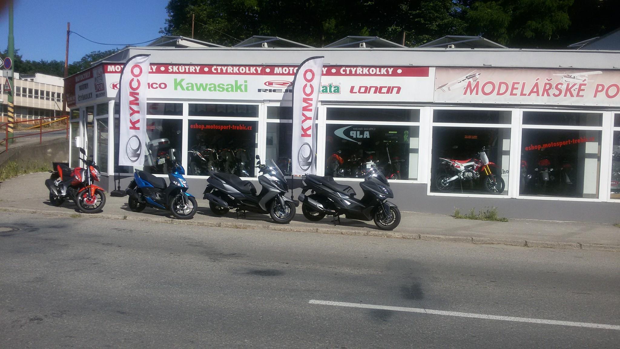 MOTOSPORT Třebíč - motorky, skútry a čtyřkolky