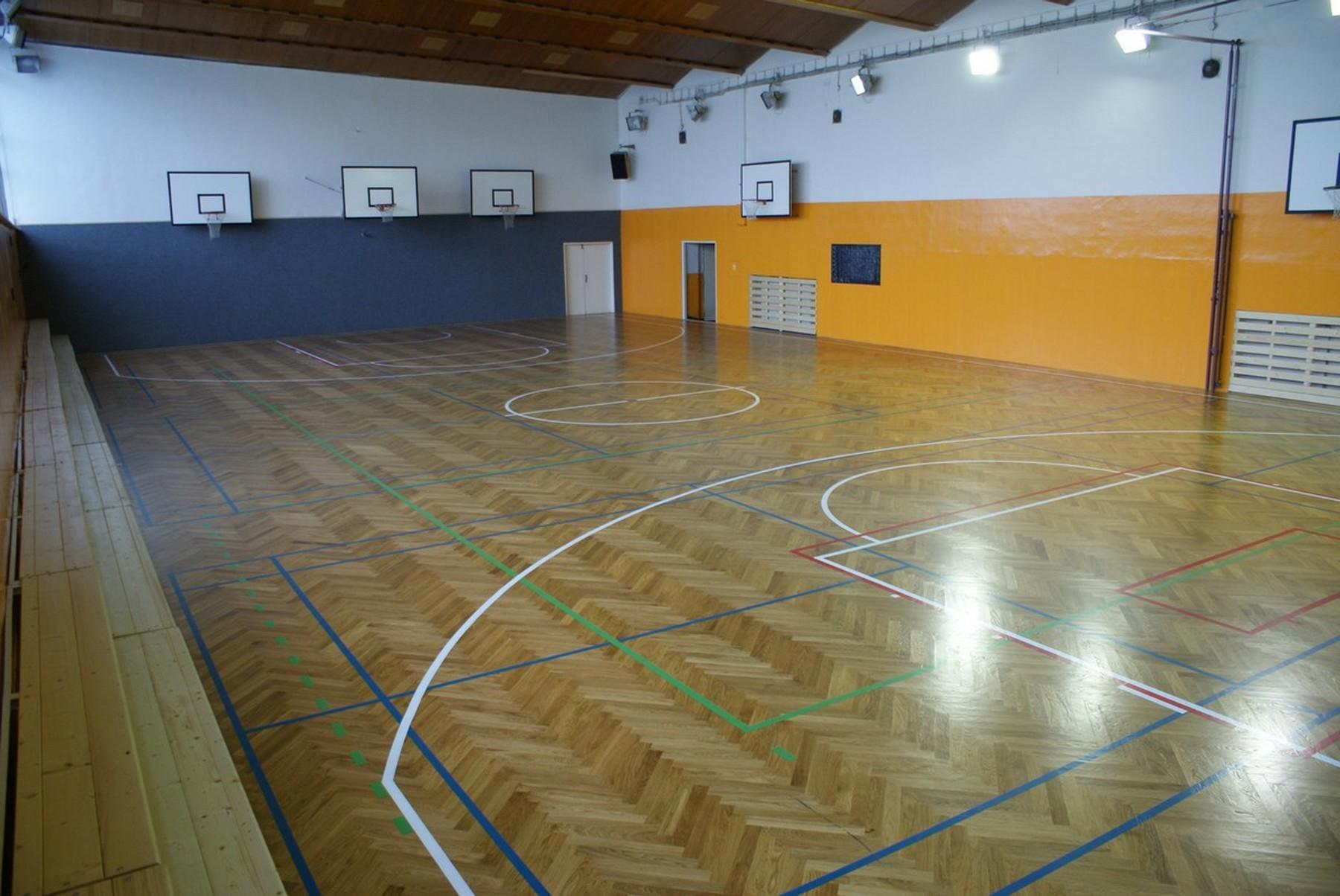 Tělocvična Obchodní akademie Ostrava Mariánské-Hory