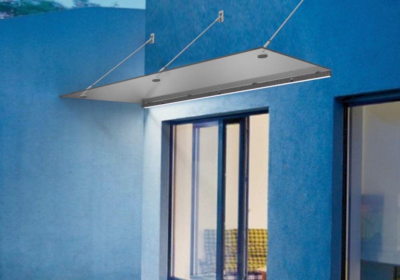 Vchodový přístřešek závěsný s LED osvětlením