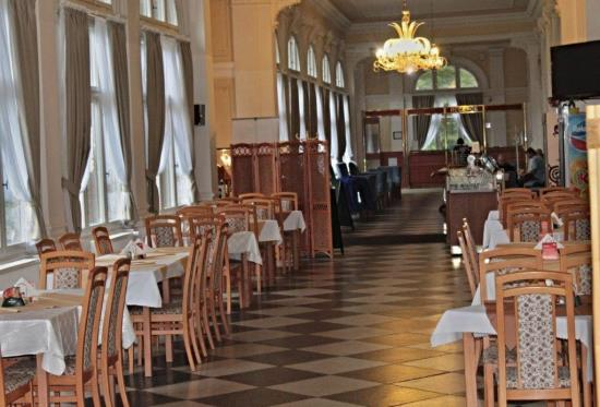 Budova Letní lázně s restaurací a kavárnou, Karlova Studánka