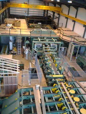 Úspěšná instalace dřevozpracující linky ve Francii