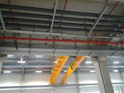 Montáž a elektroinstalace automatických linek, průmyslových hal