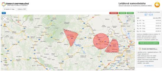 Regionální distribuce reklamních tiskovin adresátům