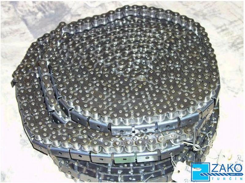 Výroba atypických válečkových řetězů pro průmysl