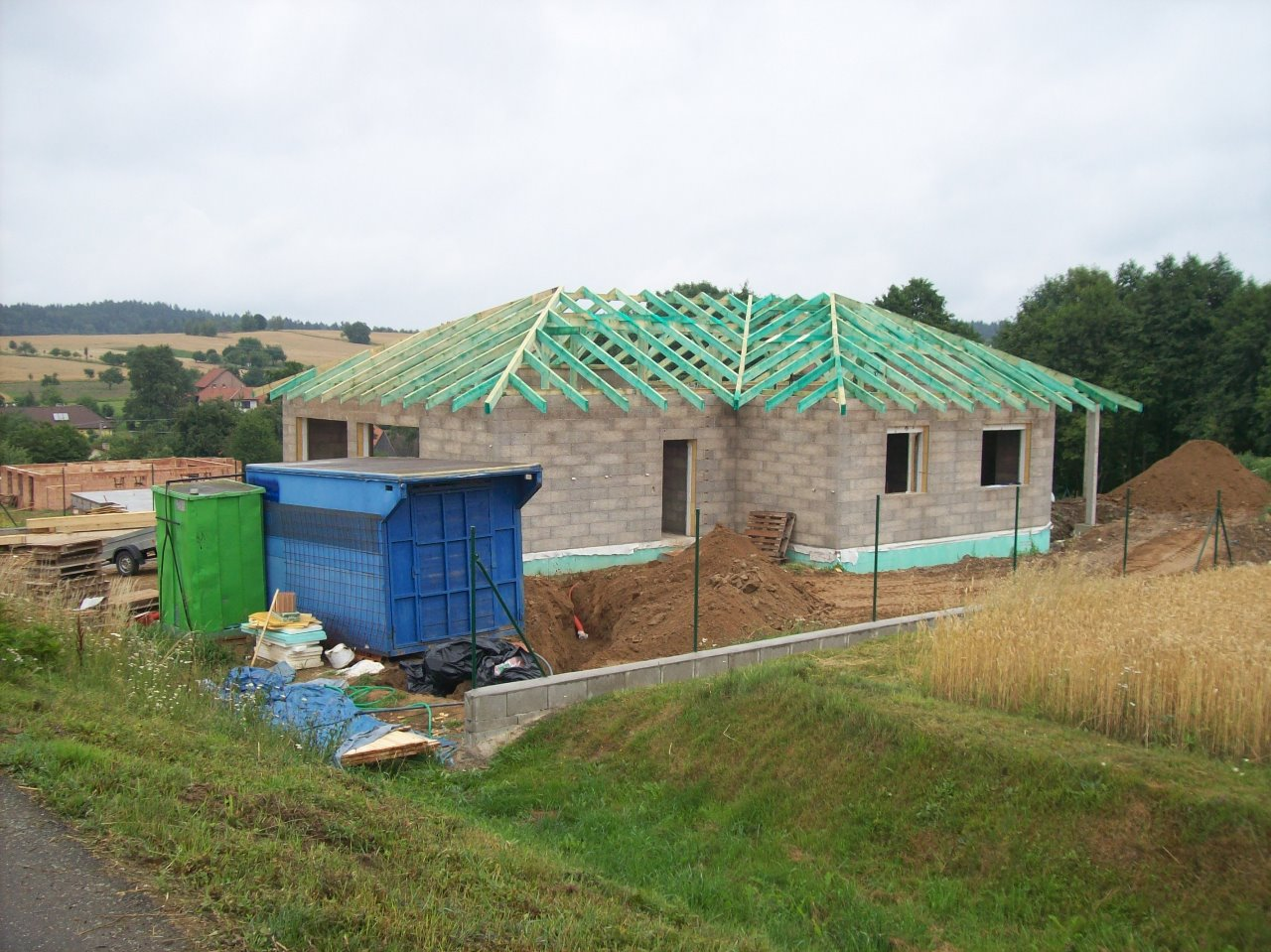 Rekonstrukce a zateplování rodinných domů - Vysočina