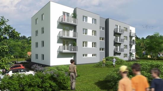 Bytový dům FOROTA v Bystřici nad Pernštejnem Vysočina