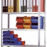 Výprodej policových regálů pro skladování a archivaci