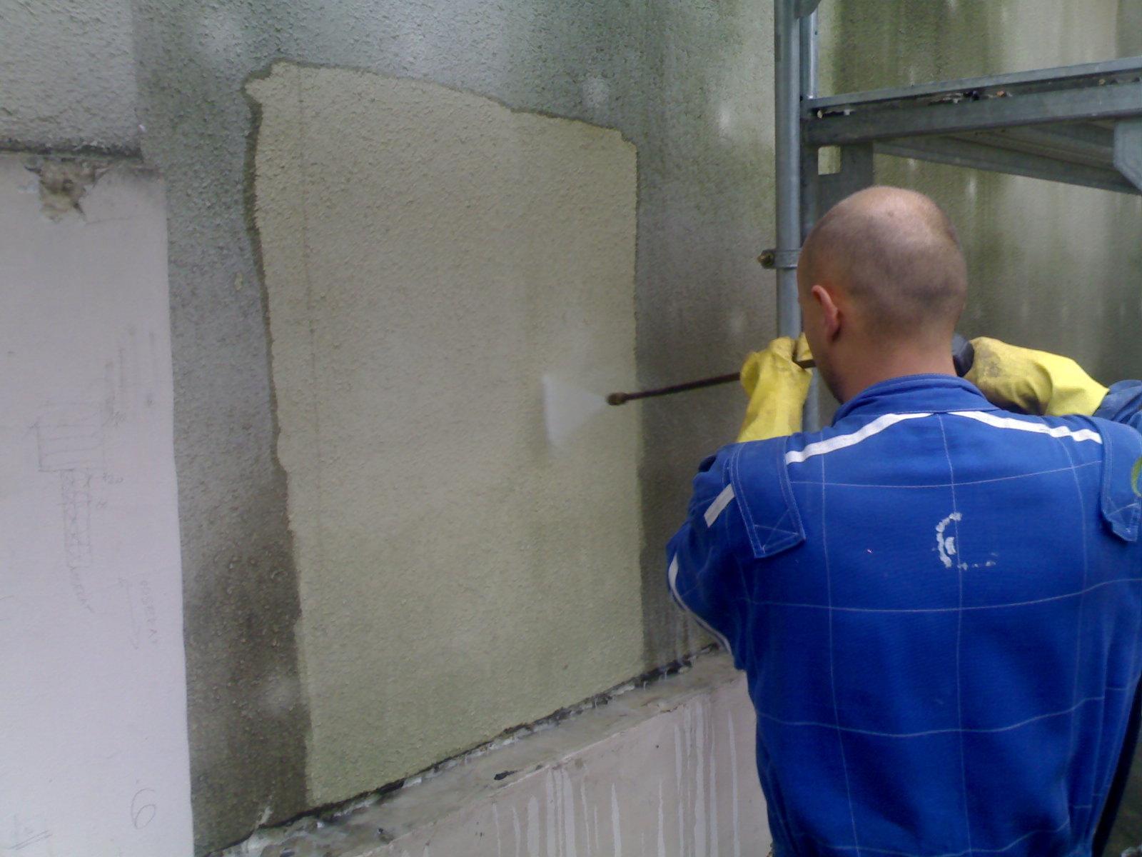 Profesionální čištění povrchů, fasád - Praha