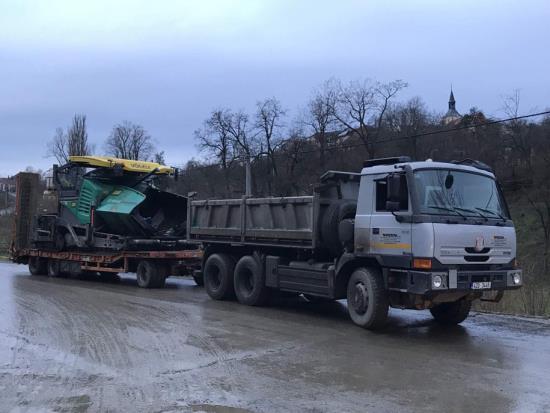 Nákladní autodoprava - BADIN s.r.o. Ivančice u Brna
