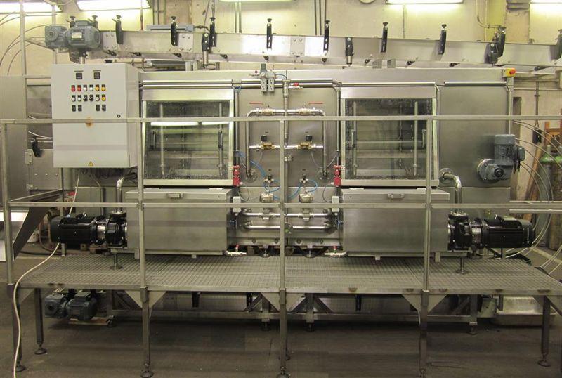 Výroba nápojové techniky, myčky přepravek