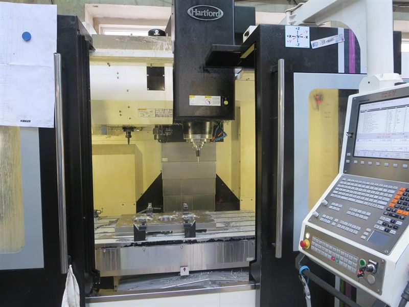Obrábění kovů na moderních CNC obráběcích strojích