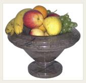 Žulové dekorační mísy na ovoce - kamenictví METAL GRANIT