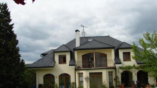 Břidlicová střecha v Praze