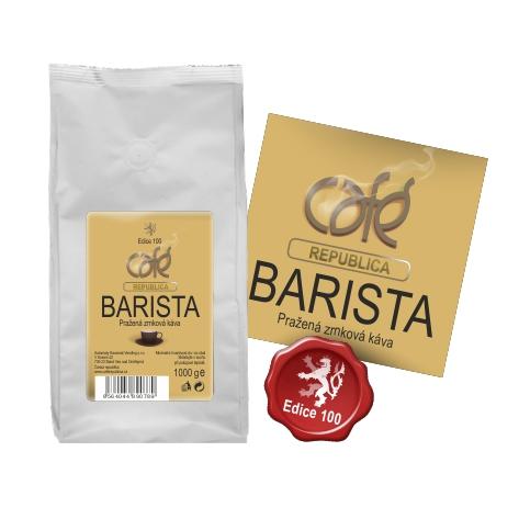 Zrnková káva CAFÉ REPUBLICA BARISTA v e-shopu