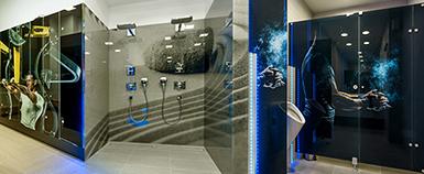 Keramický tisk IMAGE GLASS na skleněné sprchové kabiny